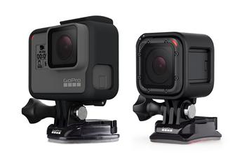 Accessoires pour caméra sport Gopro FIXATIONS ADHéSIVES ETANCHES X6