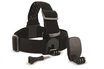 Accessoires pour caméra sport Movincam BANDEAU TETE + CLIP compatible tous modèles GOPRO et osmo act