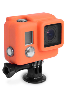 Accessoires pour caméra sport PROTECTION SILICONE HERO3+ ORANGE Xsories
