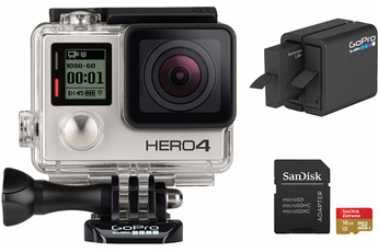 Caméra sport HERO 4 Silver Pack Gopro