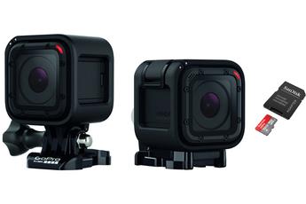 Caméra sport HERO4 SESSION + MicroSD 32GO Gopro