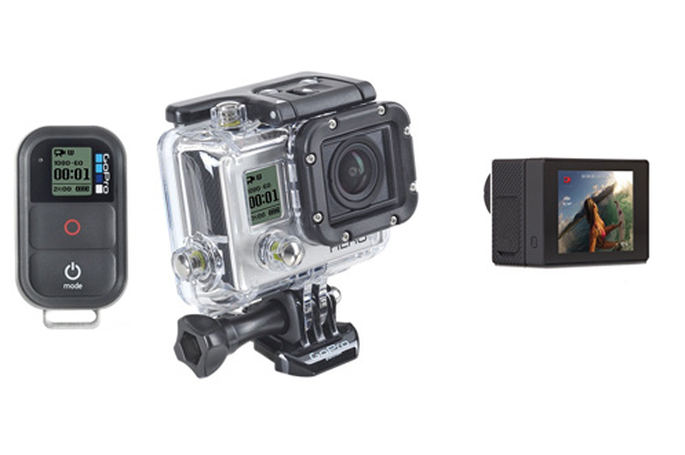 gopro hd hero3 black edition adventure ecran lcd hero3 adventure lcd 3770397 darty. Black Bedroom Furniture Sets. Home Design Ideas