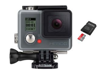 Caméra sport HERO+ + ULTRA MICRO SD 16 Go Gopro