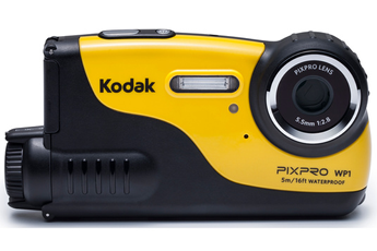 Appareil photo compact WP1 HD 720p JAUNE Kodak