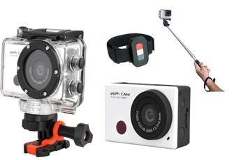 Caméra sport PSV001 + PERCHE TELESCOPIQUE Proline