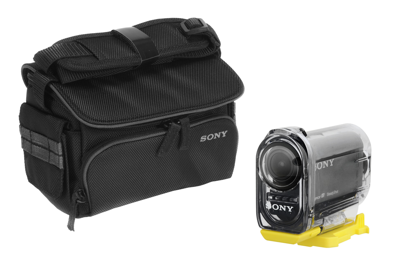 cam ra sport sony action cam hdr as15 etui 3670880 darty. Black Bedroom Furniture Sets. Home Design Ideas