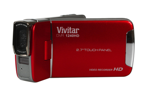 Vivitar DVR 1240HD ROUGE