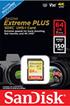 Sandisk Extreme Plus SDXC Card 64GB photo 1