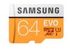 Samsung Carte micro SD EVO 64gb photo 1
