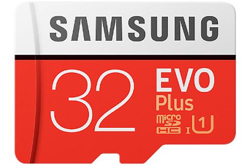 Carte micro SD MSD EVO PLUS 32 GO + ADAP Samsung