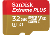 Carte micro SD Sandisk MSD EXT PLUS 32GB