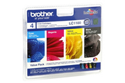 Cartouche d'encre Brother Pack LC1100 4 couleurs