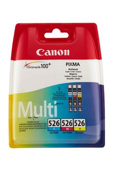 Cartouche d'encre Canon CLI-526 C/M/Y
