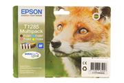 Cartouche d'encre Epson Pack Renard T1285 4 couleurs