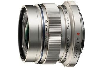 Objectif à Focale fixe Olympus ED 12mm f/2 Silver