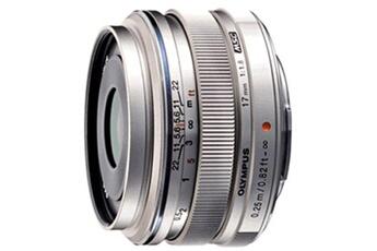 Objectif à Focale fixe Olympus ED 17mm f/1,8 MSC Silver