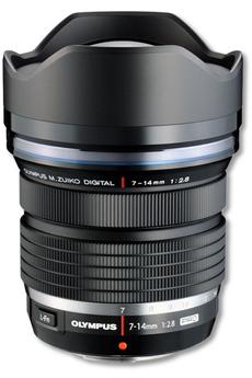 Objectif zoom Olympus ED 7-14mm f/2.8 PRO
