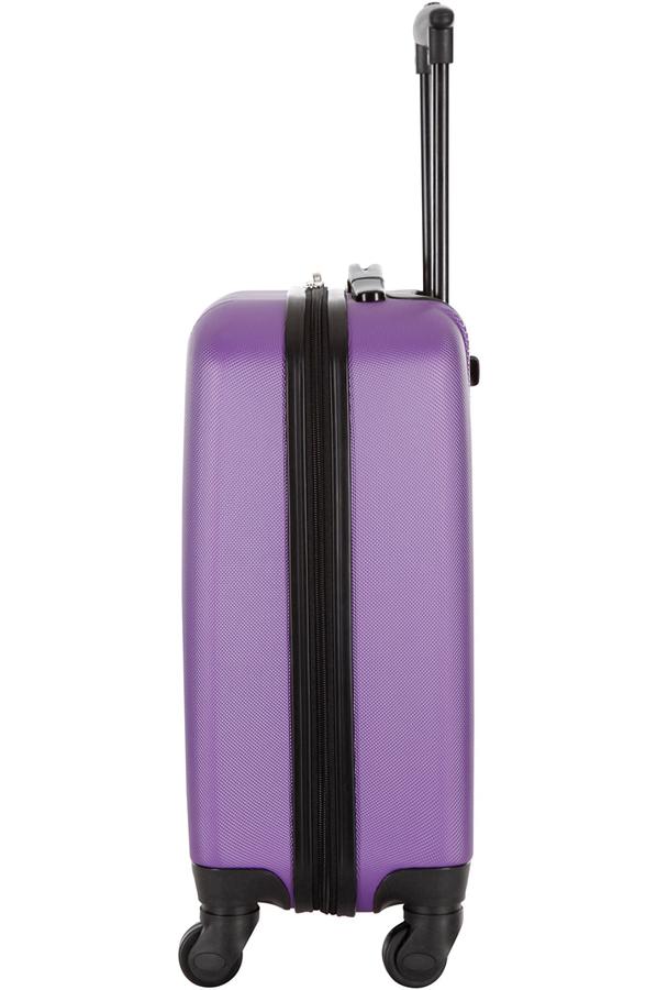 valise cabine size valise cabine format low cost violet 4228332 darty. Black Bedroom Furniture Sets. Home Design Ideas