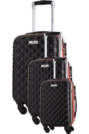 valise platinium ensemble de 3 valises s m l noir ensemble de 3 valises s m l darty. Black Bedroom Furniture Sets. Home Design Ideas