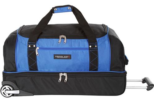 avis clients pour le produit valise travel one sac de voyage a roulette bleu. Black Bedroom Furniture Sets. Home Design Ideas