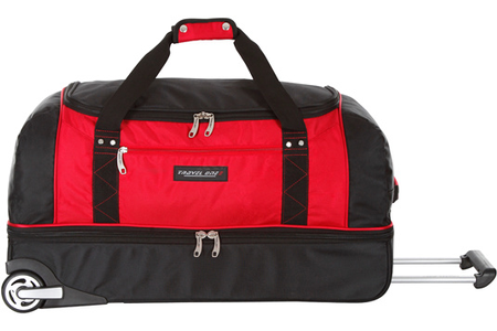 bb5af13398 Valise Travel One SAC DE VOYAGE A ROULETTE ROUGE | Darty