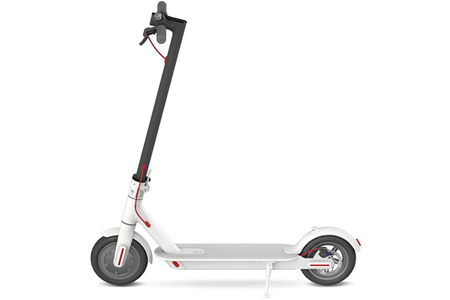 trottinette lectrique xiaomi mi electric scooter blanc darty. Black Bedroom Furniture Sets. Home Design Ideas