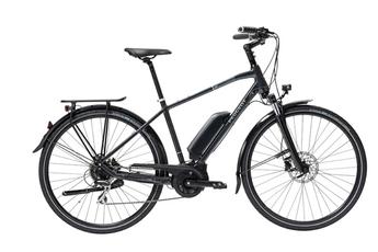 Vélo électrique Peugeot VAE Trekking Gris Magnétique Taille 53