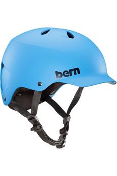Casque et protection Bern Watts EPS Matte Cyan Blue - Small