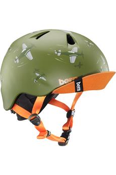 Casque et protection Bern Nino Matte Green Dogfight w/ Flip...