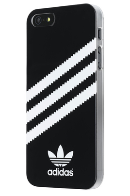 Housse pour iphone adidas coque adidas noire rayures for Housse iphone 5se