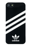 Adidas Coque Adidas noire rayures blanche iPhone 5/5S
