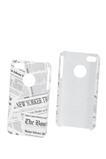 Akashi Coque Newspaper iPhone 4/4S