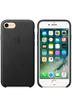Housse pour iPhone CASE LEA IPH7 BLACK Apple