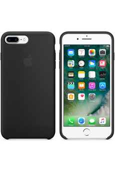 Housse pour iPhone iPhone 7 Plus Silicone Case - Black Apple