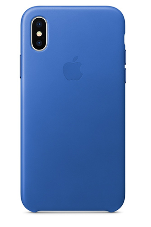 coque iphone x apple bleu