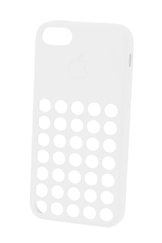Housse pour iPhone COQUE APPLE IPHONE 5C BLANC Apple