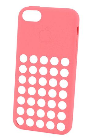 COQUE APPLE IPHONE 5C ROSE