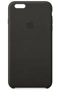 Apple COQUE CUIR NOIRE POUR IPHONE 6 PLUS