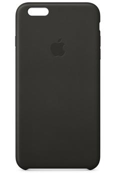 Housse pour iPhone COQUE CUIR NOIRE POUR IPHONE 6 PLUS/6S PLUS Apple
