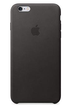 Housse pour iPhone COQUE DE PROTECTION EN CUIR NOIR POUR IPHONE 6/6S Apple
