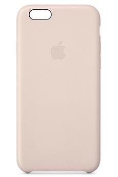 Housse pour iPhone COQUE CUIR ROSE POUR IPHONE 6/6S Apple