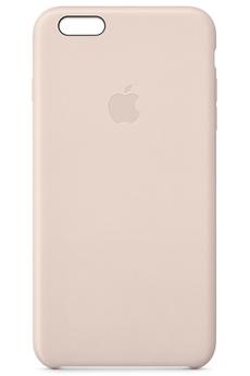 Housse pour iPhone COQUE CUIR ROSE POUR IPHONE 6 Plus/6S Plus Apple