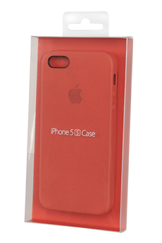 Housse pour iPhone Coque iPhone 5/5S Rouge Apple