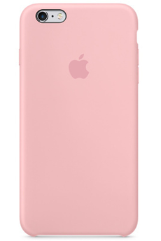 Housse pour iPhone COQUE DE PROTECTION EN SILICONE ROSE POUR IPHONE 6 PLUS/6S PLUS Apple