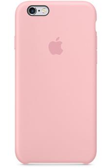 Housse pour iPhone COQUE DE PROTECTION EN SILICONE ROSE POUR IPHONE 6/6S Apple