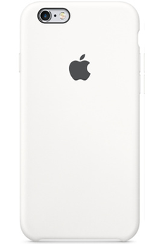 Housse pour iPhone COQUE DE PROTECTION EN SILICONE BLANC POUR IPHONE 6/6S Apple