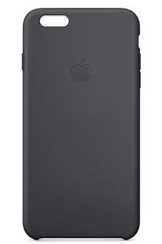 Housse pour iPhone COQUE SILICONE NOIRE POUR IPHONE 6 Plus/6S PLUS Apple