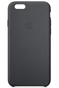Apple COQUE SILICONE NOIRE POUR IPHONE 6