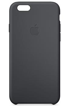 Housse pour iPhone COQUE SILICONE NOIRE POUR IPHONE 6 Apple
