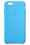 Apple COQUE SILICONE BLEUE POUR IPHONE 6